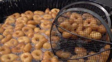 Turkish Traditional Donut Lokma