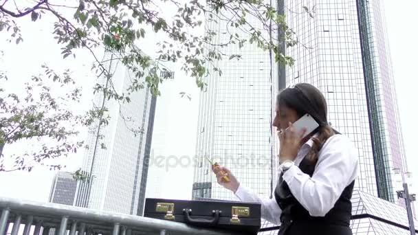 Business  Woman Teamwork Talking Concept
