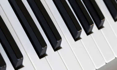 Piano Keys Musical Concept