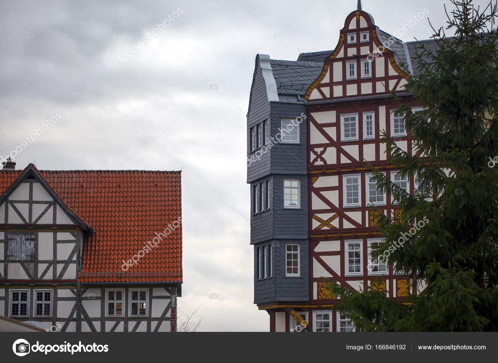 Architecture des maisons allemandes vintage ancienne for Architecture ancienne