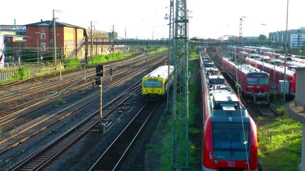Train and Wagons Transportation Railways in Germany