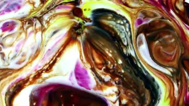 abstrakte bunte Farbtinte Flüssigkeit explodieren Diffusion psychedelischen Explosion