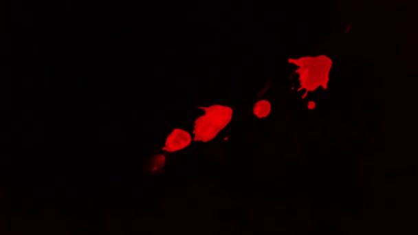 Krevní kapky Splash pozadí textury