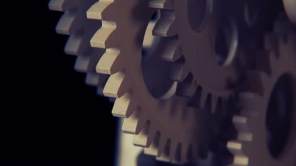 Abstrate industrielle Uhrwerke