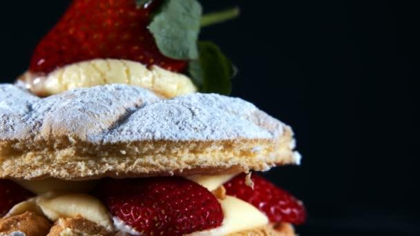 Delicious Tasty Sweet Strawberry Cake