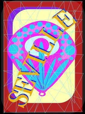 """Картина, постер, плакат, фотообои """"цветной фон севильи . картины лондон"""", артикул 129946584"""
