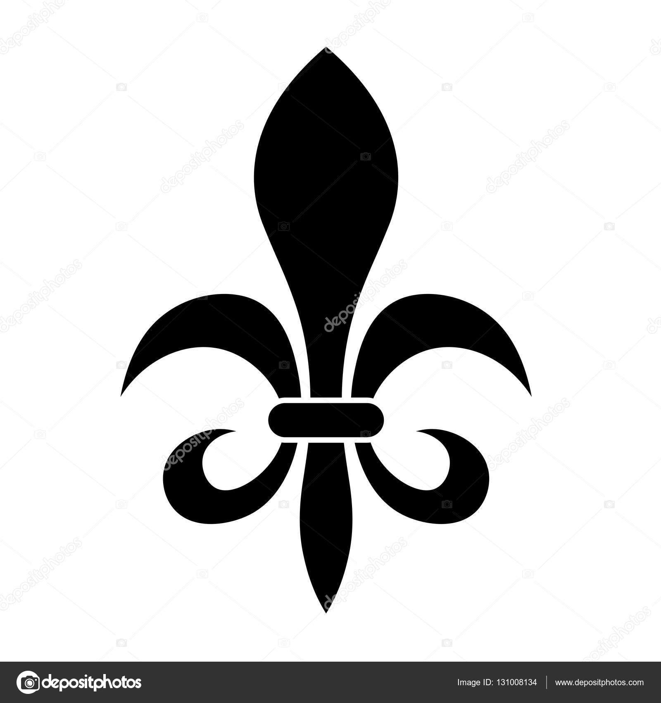 Fleur De Lis Heraldry Symbol Stock Vector Pyty 131008134