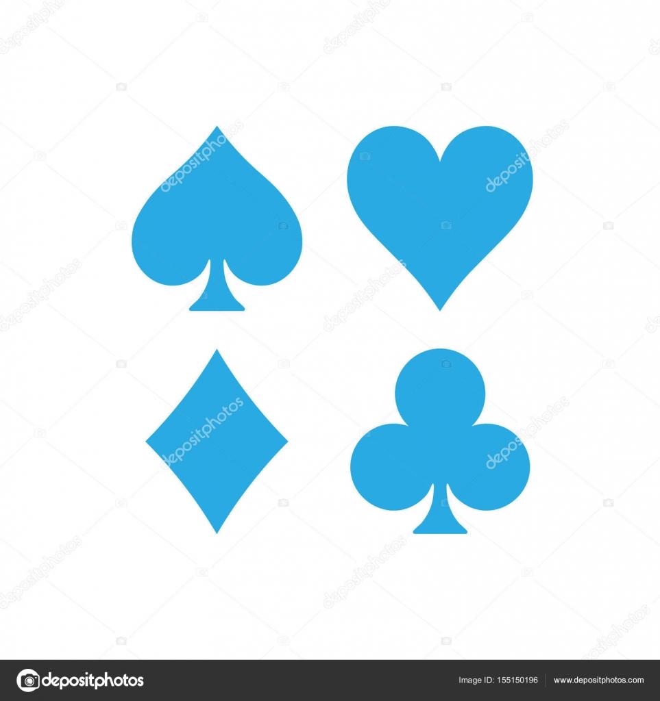Poke Live Dcf Shapes: Hearts, Clubs, Spades And Diamonds