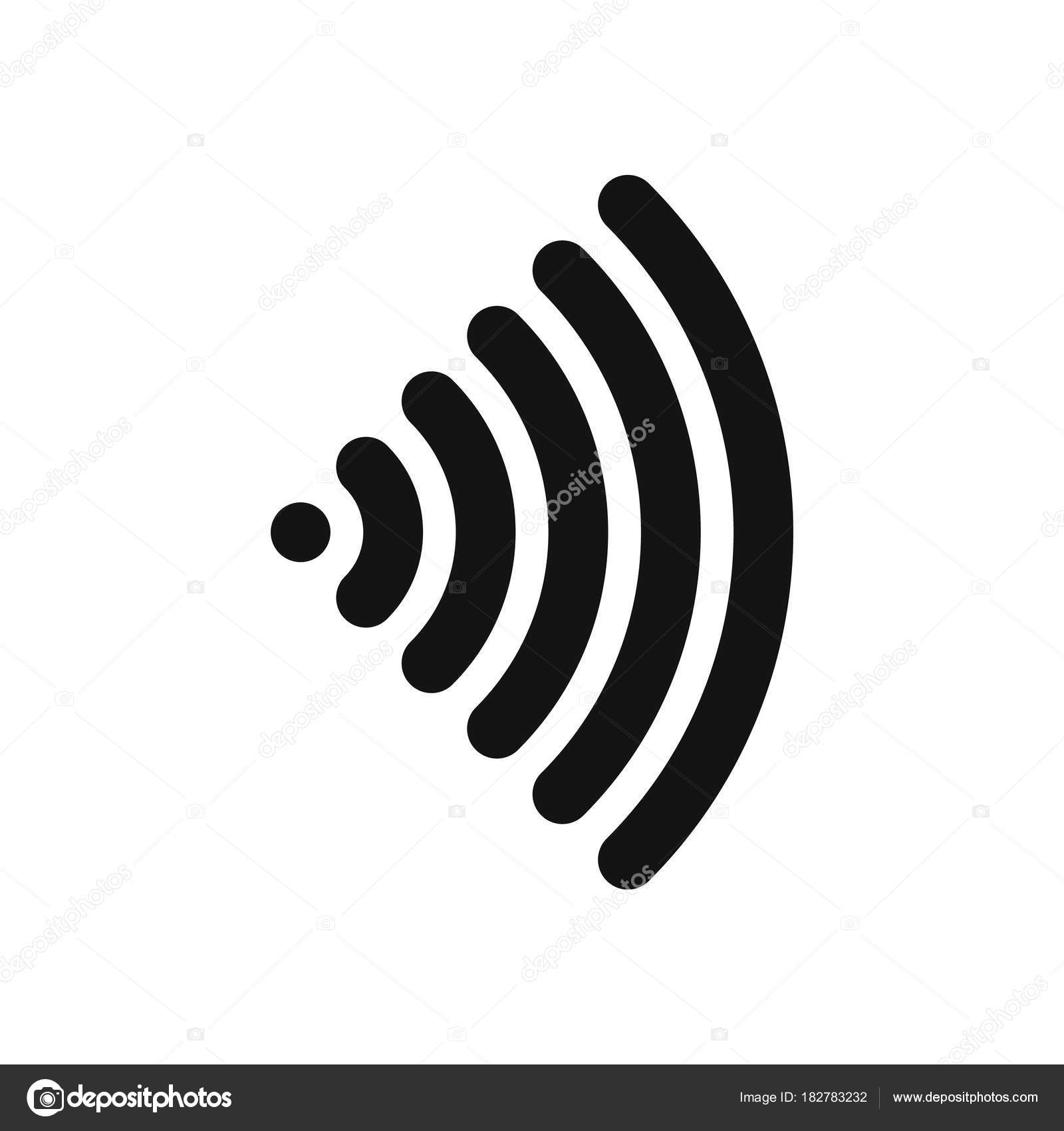 Wifi symbol wireless internet connection or hotspot sign black wifi symbol wireless internet connection or hotspot sign black simple flat vector icon with buycottarizona Images