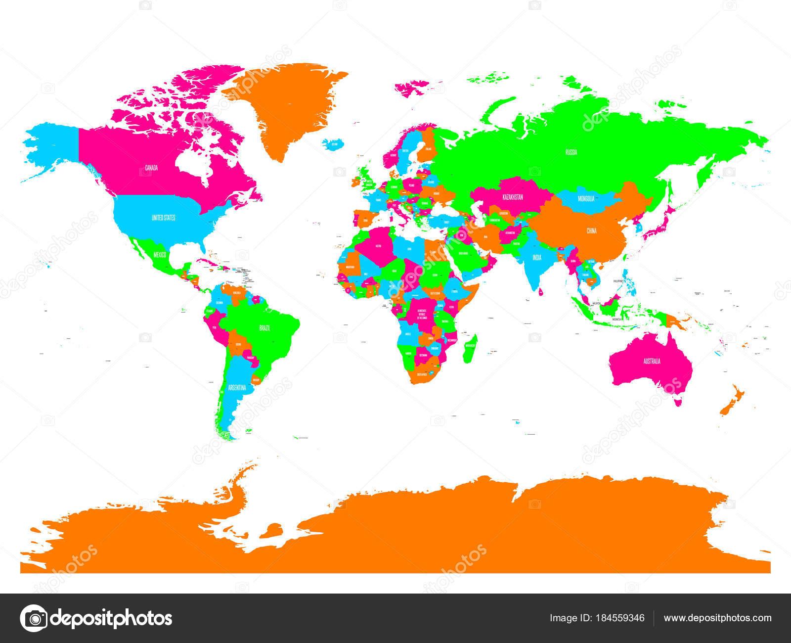 Mapa Politico Del Mundo Con Nombres.Vector Mapa De Mexico Con Nombres Mapa Politico De Vector