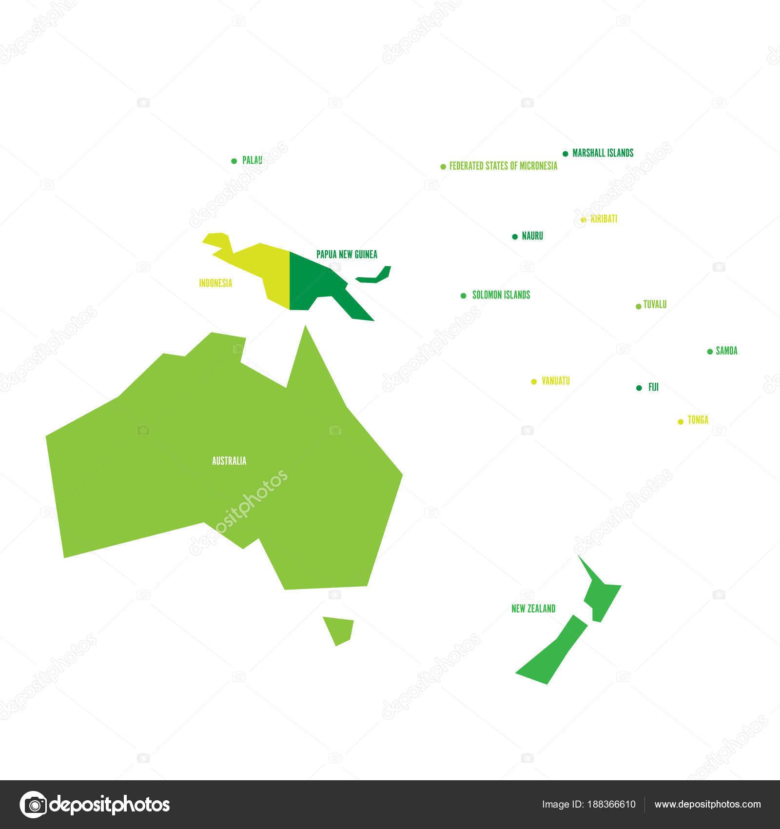 Cartina Dell Australia Politica.Vettore Cartina Australia Politica Infographical Molto