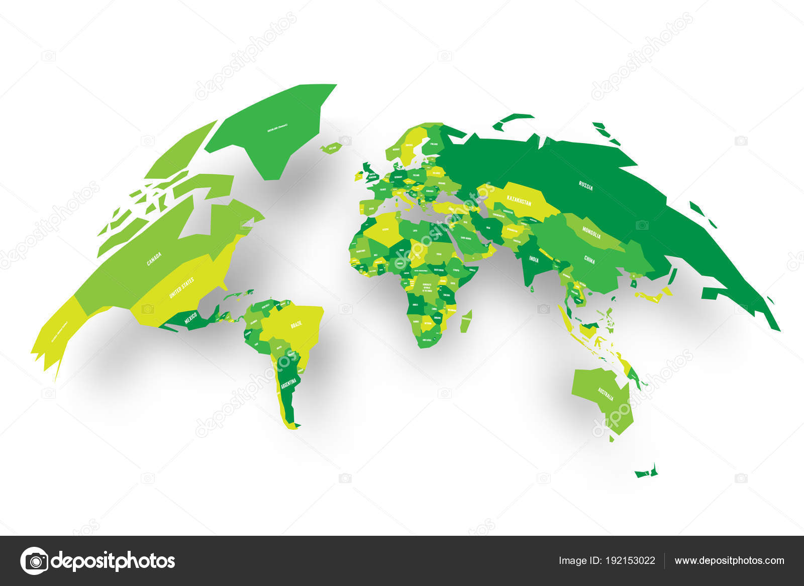 Green political map of world bulging in a shape of globe 3d vector green political map of world bulging in a shape of globe 3d vector illustration map gumiabroncs Images