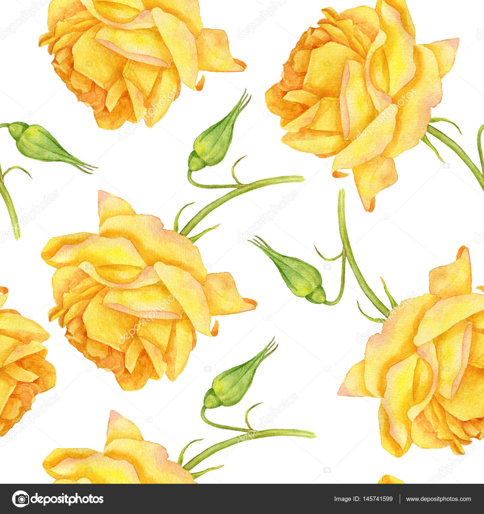 Flores Amarillas Dibujos