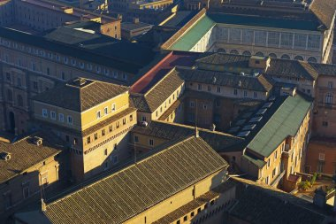 Vatican city roofs