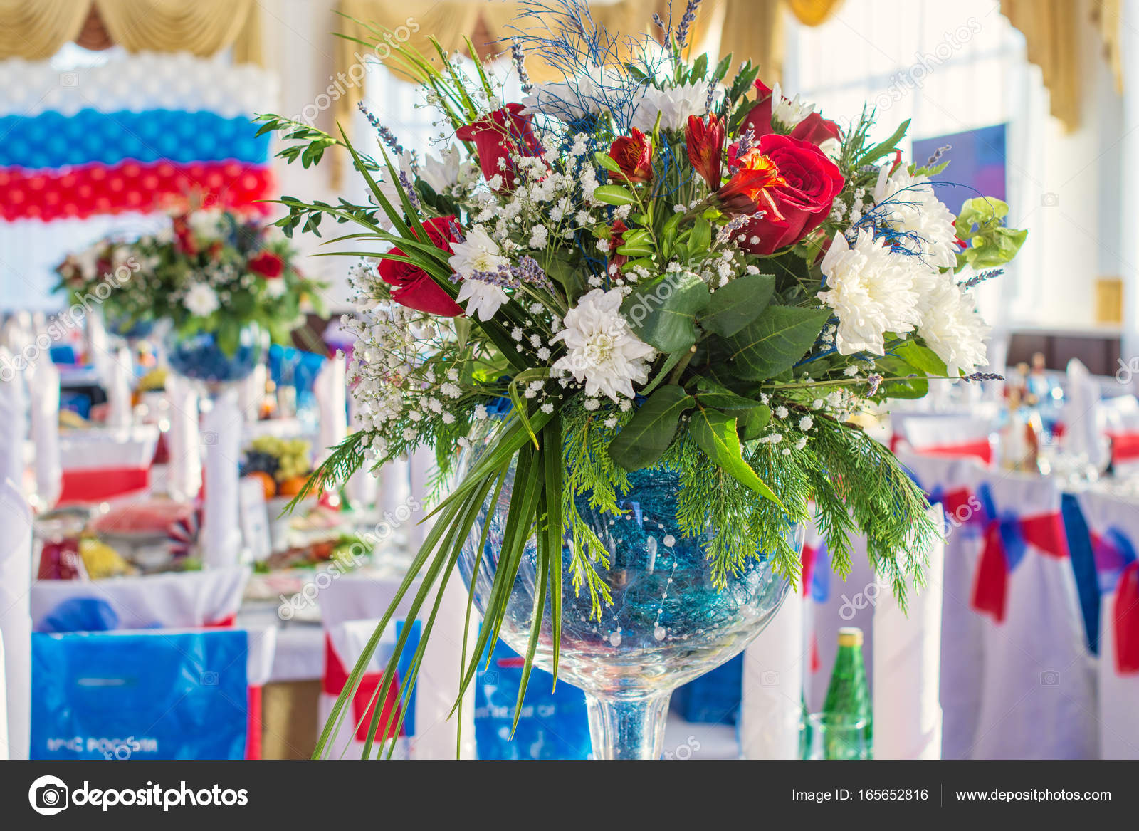 beautiful colorful flower bouquets — Stock Photo © photollurg2 ...