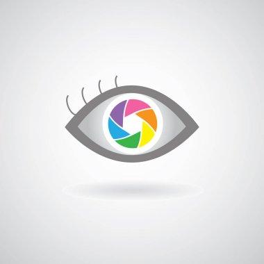 eye  shutter icon