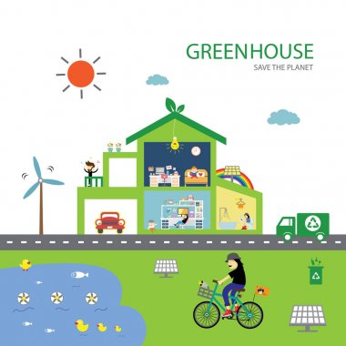 green house save planet