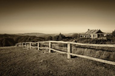 Craigs Hut  in the Victorian Alps, Australia