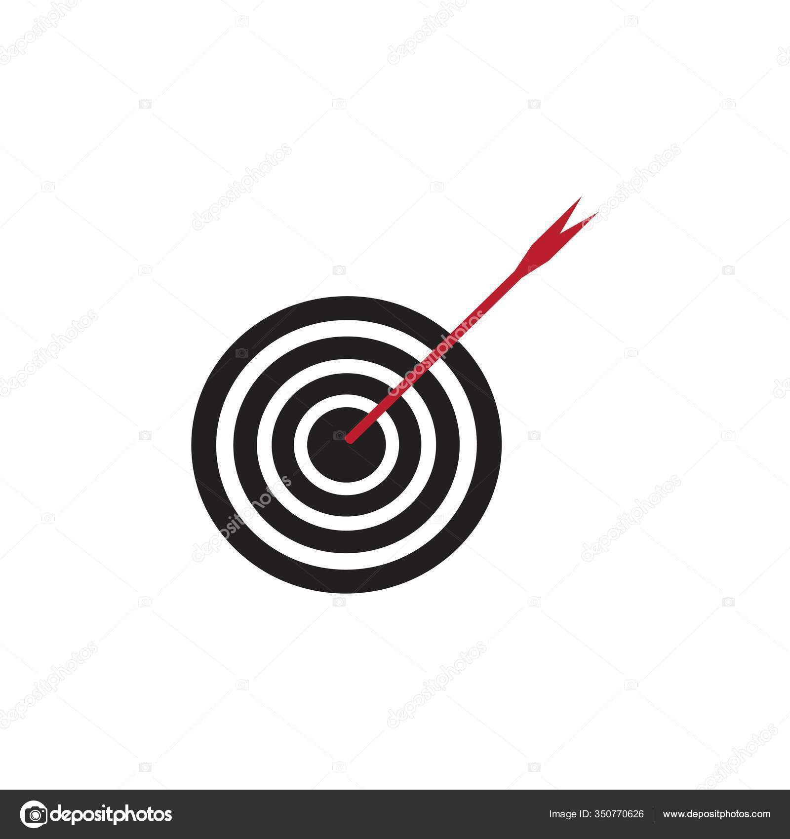 Target Icon Vector Ilustration Template Stock Vector C Ahmadwahyu27 Gmail Com 350770626 Affordable and search from millions of royalty free images, photos and vectors. depositphotos