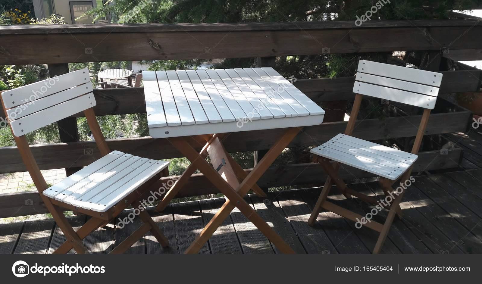 Tuinmeubelen wit hout fresh tuinset met houten tafel en dining