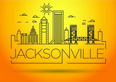 Jacksonville Linear City Skyline