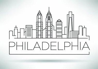 Philadelphia Linear City Skyline