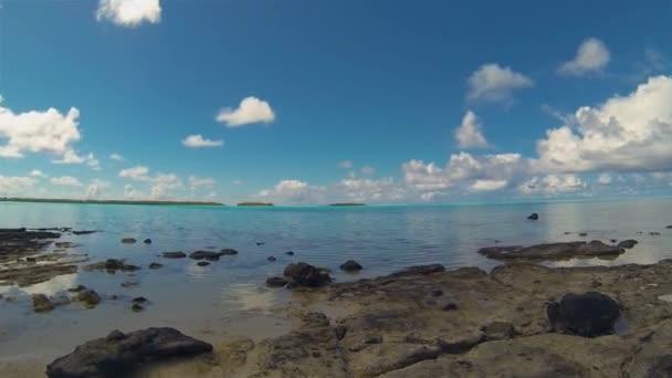 Rapota Island Motu vagy Aitutaki szigetén. Lakatlan trópusi sziget Aitutaki Lagúnában