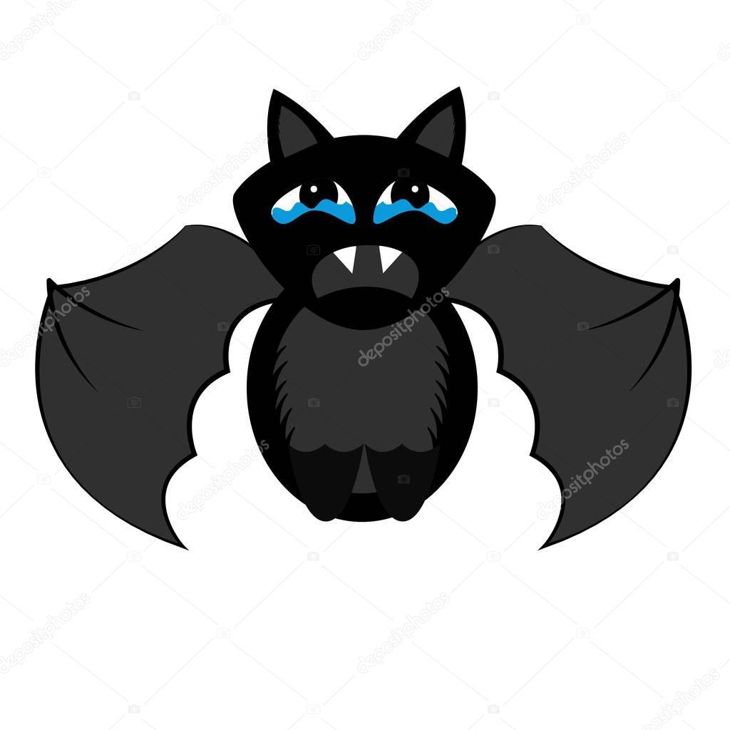 isol des chauve souris halloween image vectorielle. Black Bedroom Furniture Sets. Home Design Ideas