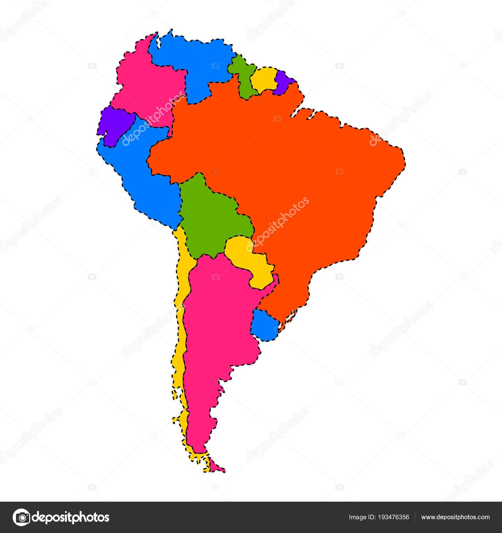 Mapa Politico De Sudamerica.Mapa Fisico Sudamerica Mapa Politico De America Del Sur