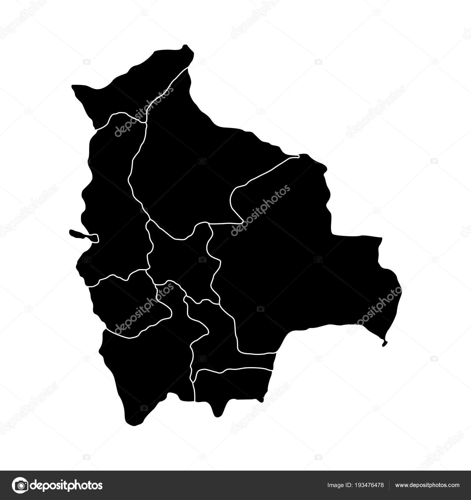 Political Map Of Bolivia Stock Vector C Jokalar01 193476478