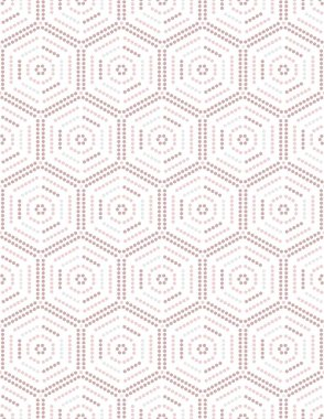Minimal geometric vector seamless pattern,in pink and black.
