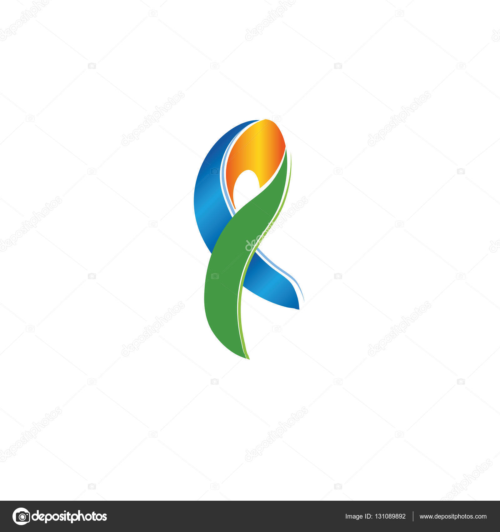 Isolated colorful ribbon logo scarf icon accessory emblem against against cancer logotype stop disease symbol international worldwide breast cancer week medical sign vector illustration vector by artyway biocorpaavc Images