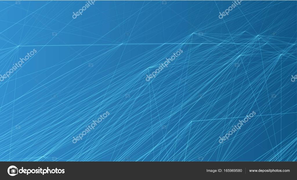 Resumen futurista rejilla de puntos y líneas. Entramado de la web ...