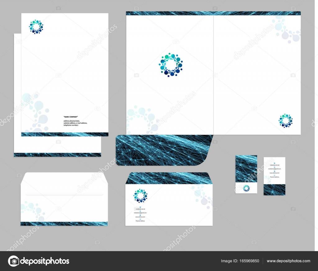 Corporate identity template design, visual marketing brand, business ...