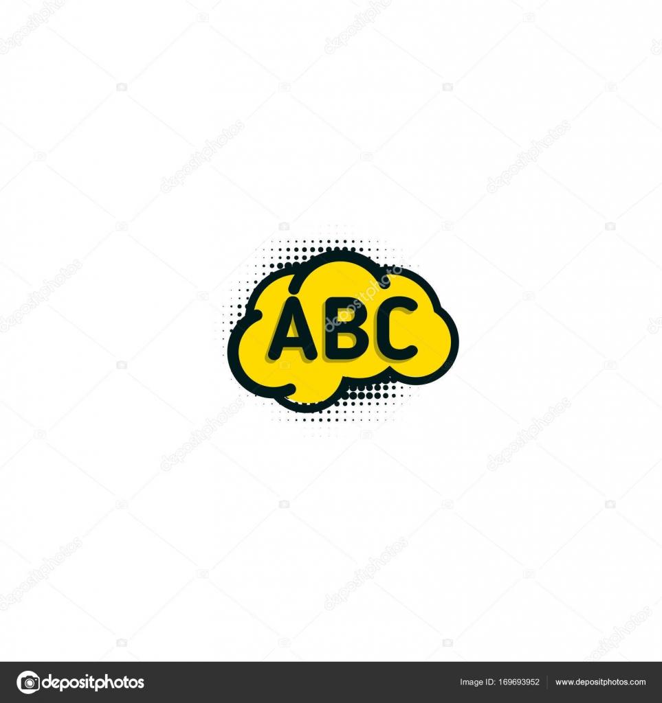 Logo Educacion Bc Escuela De Inglés Insignia Vector Logotipo