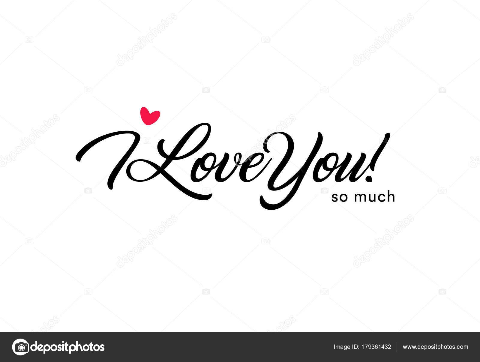 wie sehr liebe ich dich