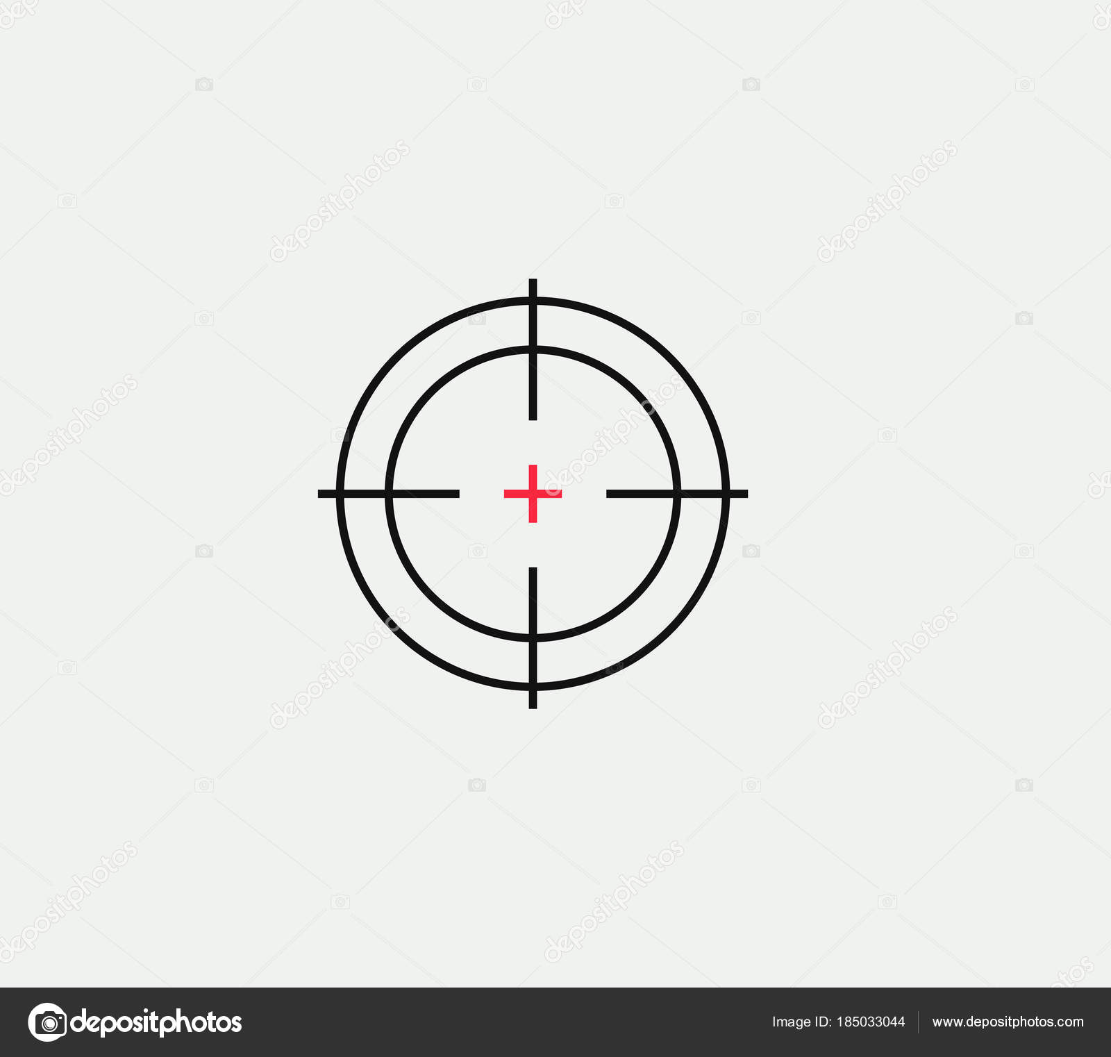 Aim vector linear stylized icon goal abstract sign target symbol aim vector linear stylized icon goal abstract sign target symbol gun business logo template vector illustration on white background vector by artyway biocorpaavc