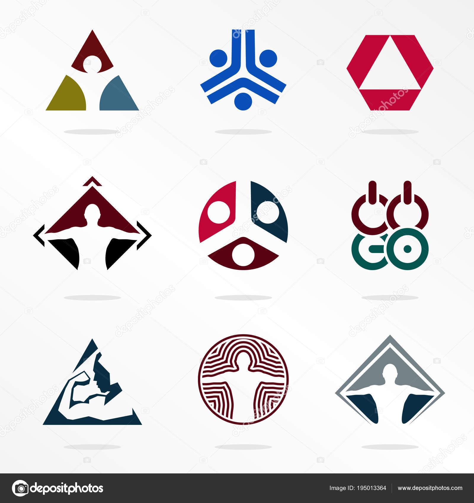 Logos De Deporte De Vector Deporte Organizacion De Logotipo