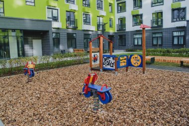 new residential quarter of new buildings