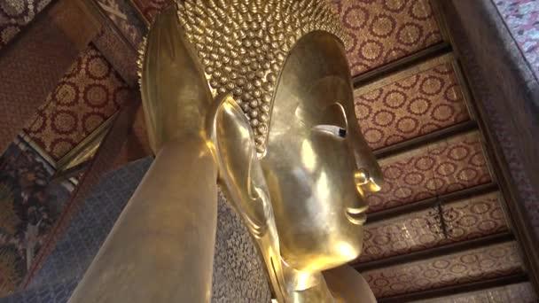 Bangkok, Thaiföld-04 Április, 2016: 4K Wat Pho néven is ismert a Temple of the Fekvő Buddha vagy Wat Po, egy buddhista templom komplexum a Phra Nakhon kerületben, Bangkok, Thaiföld-Dan