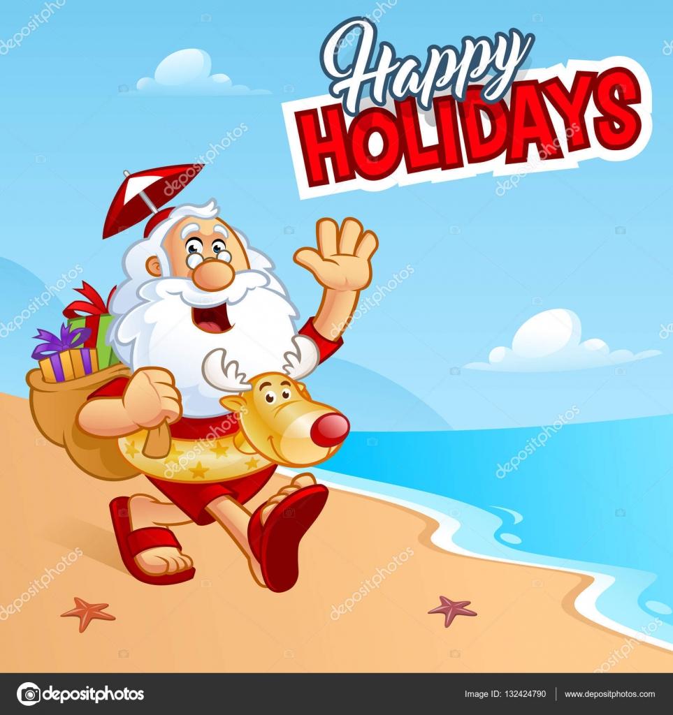 Fotos Simpaticas De Papa Noel.Imagenes Simpaticas De Navidad Simpatico Papa Noel