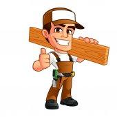 Pěkný carpenter s uzávěrem