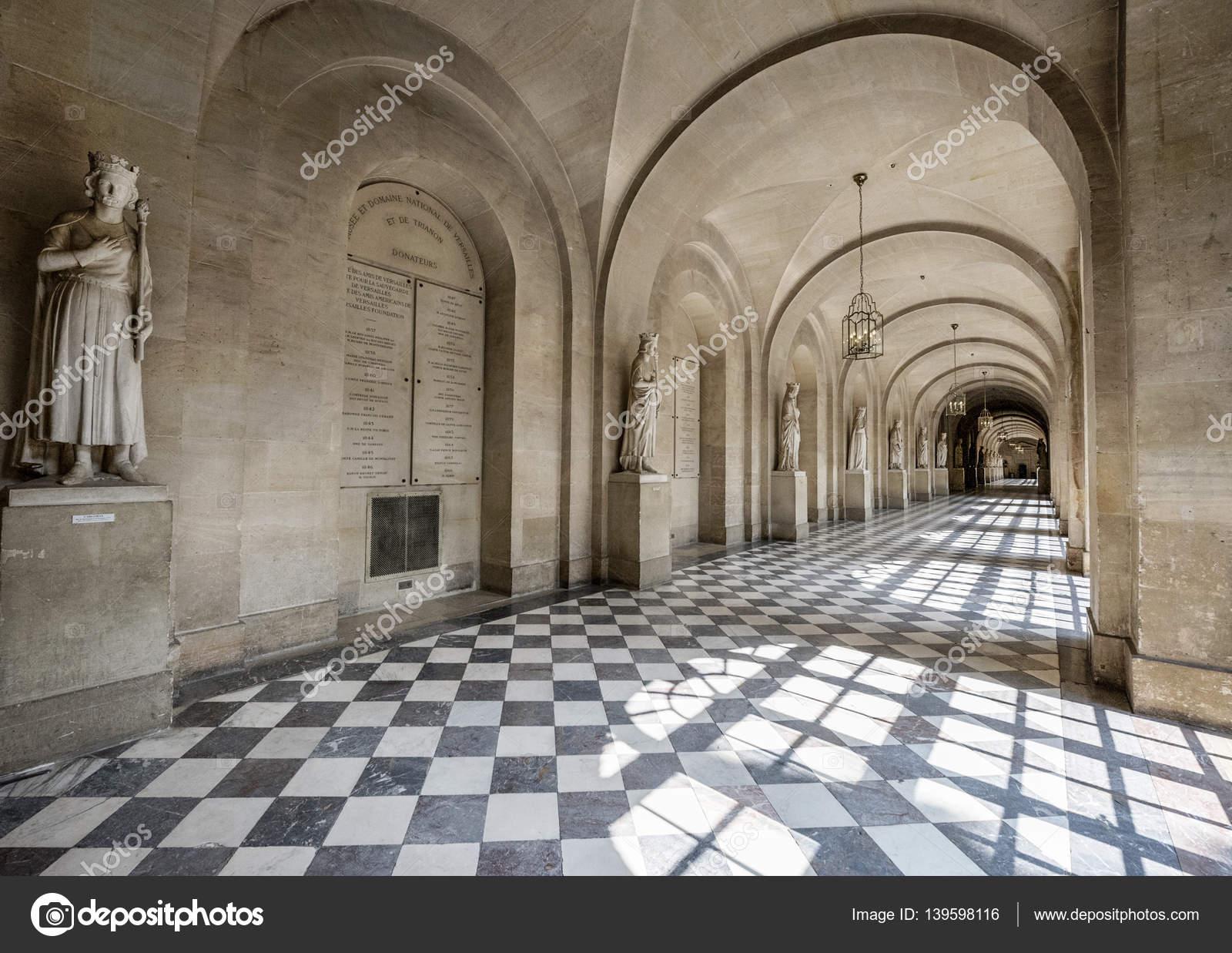 Luxuriöse Interieur des Schloss Versailles — Redaktionelles ...