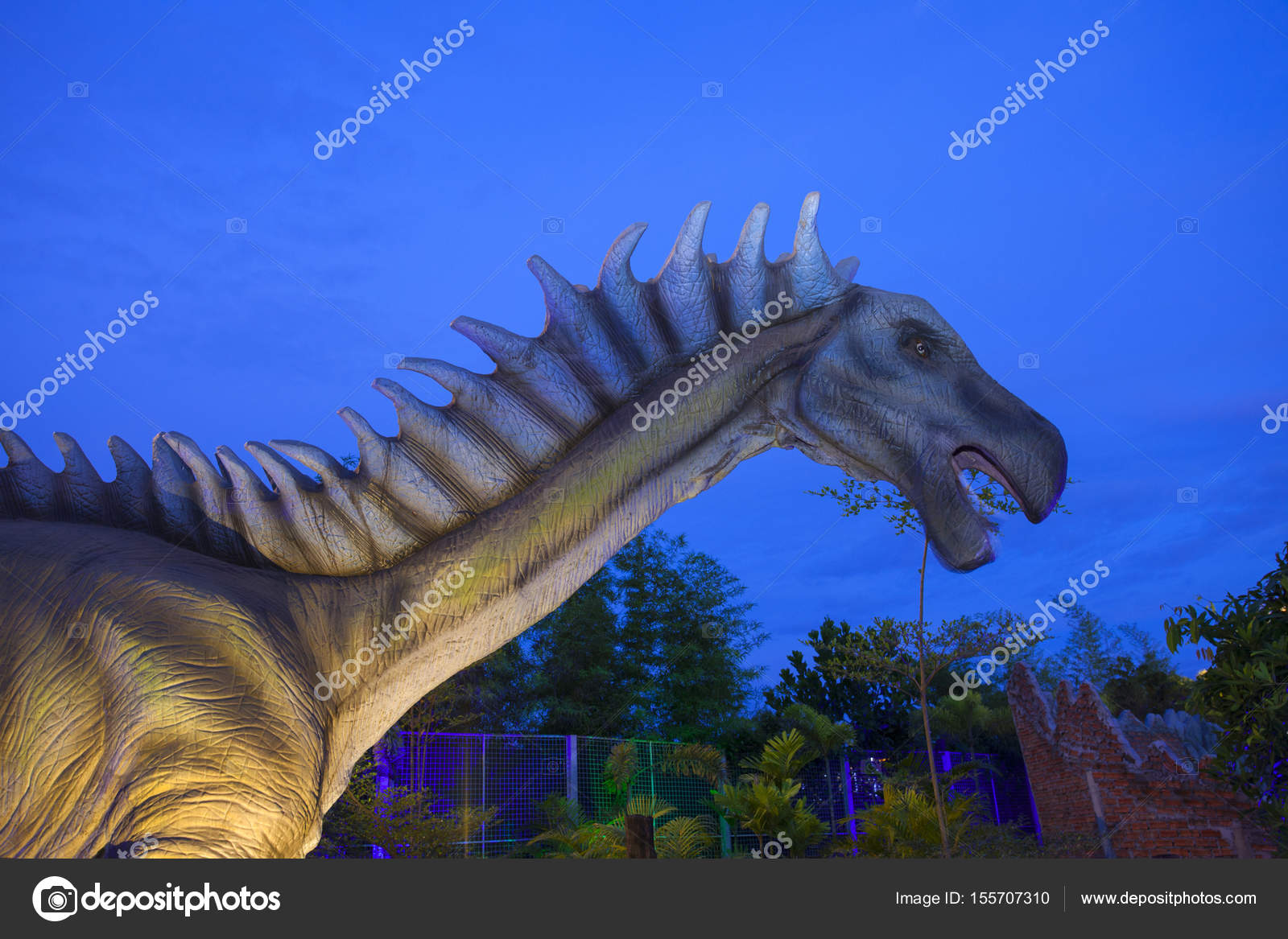 Dinosaur Park in Thailand – Stock Editorial Photo © jee1999 #155707310