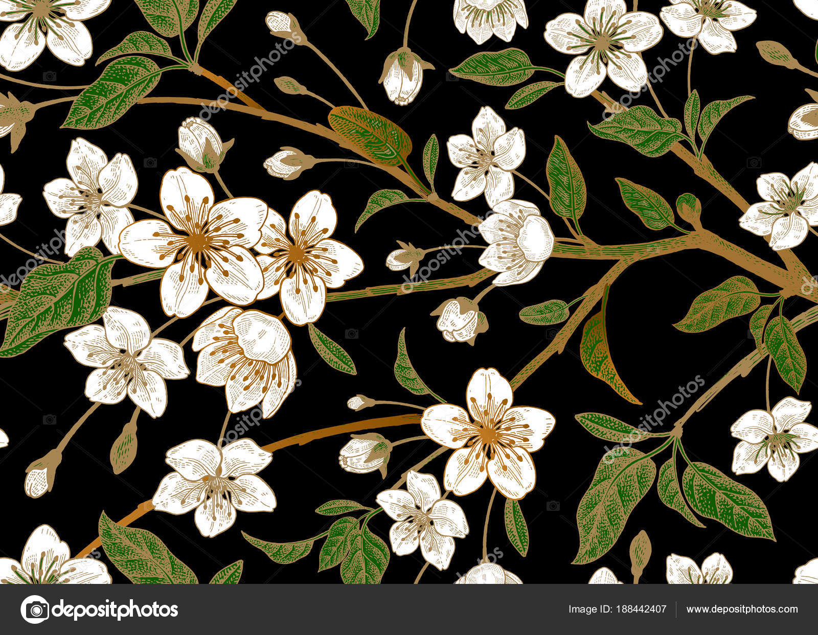 Dibujo Flores Japonesas