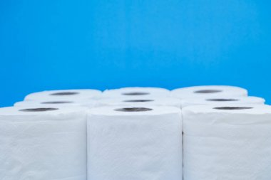 Toilet paper roll for to wipe clean Personal sanitary paper.