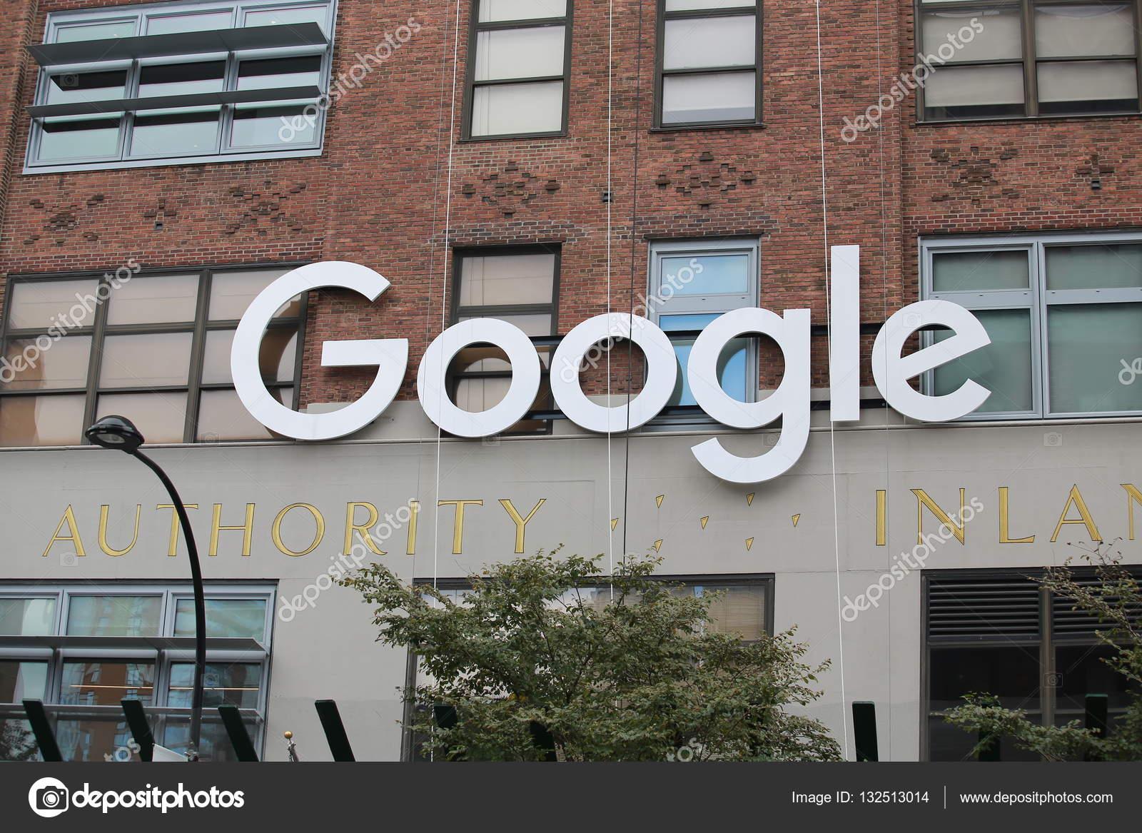Bureau de google à new york u2014 photo éditoriale © lewistse #132513014