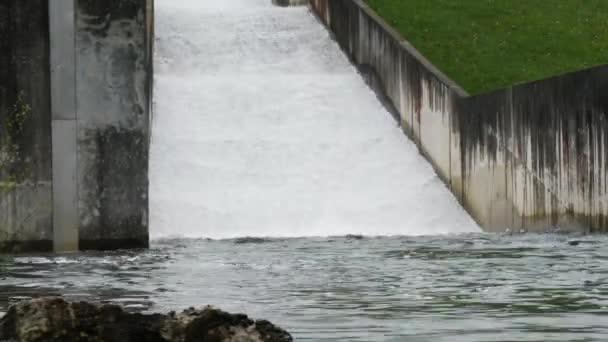 a gát a víz áramlását