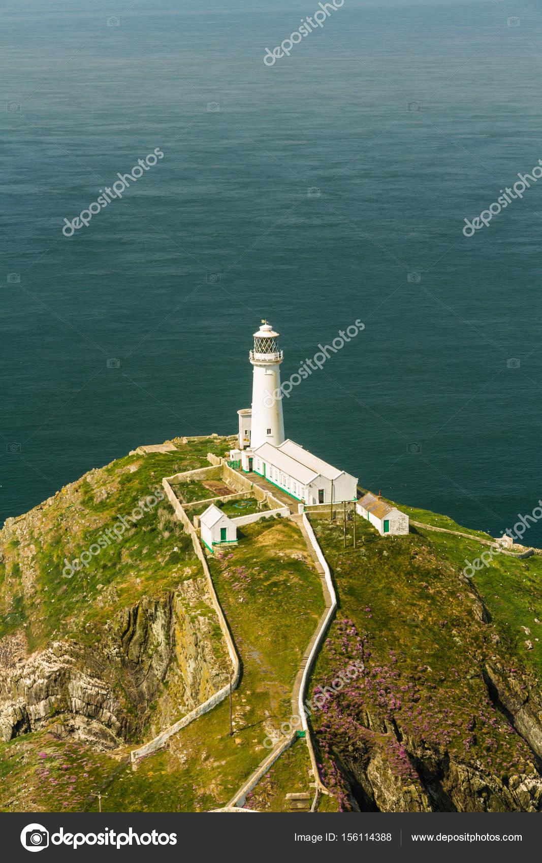 南スタック灯台、アングルシー島...