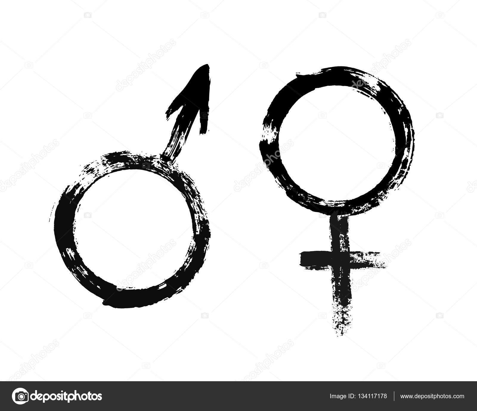 Symbol Männlich Weiblich